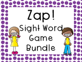 Sight Word Game Bundle - Zap!