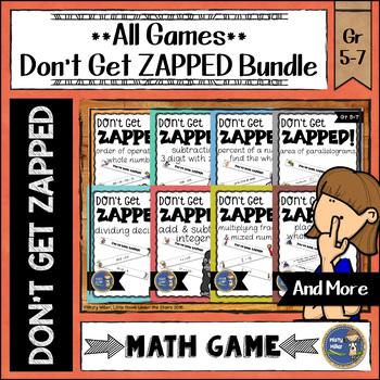 ZAP Math Game Bundle - All Games