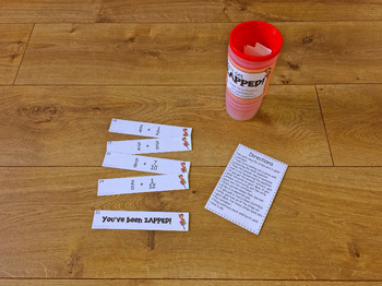 Don't Get ZAPPED Math Game Bundle - Part 1
