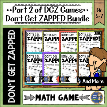 Don't Get ZAPPED Math Game Bundle - Part 2