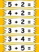 !ZAP! Bundle of 4 Games Addition & Subtraction Math Reinforcement 1.OA.6 1.NBT.5