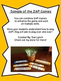 !ZAP! Bundle of 4 Games Addition & Subtraction Math Reinfo