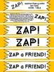 !ZAP! Math Reinforcement Game Adding within 10 Addition Fl