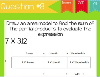 ZAP! Math Review Game NBT #6-7 (Multiplication & Division)