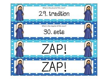 ZAP! Plural Nouns Rosary Theme