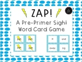 Sight Word Game - ZAP! Sight Word List 1