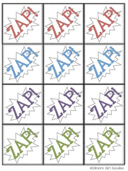 ZAP! Telling Time Game