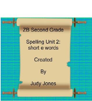 ZB Spelling Grade 2 Interactive Smartboard