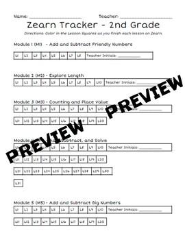 ZEARN Tracker BUNDLE by Taryn Oakley   Teachers Pay Teachers