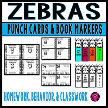Homework Behavior and Classwork PUNCH CARDS