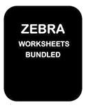 ZEBRA by Chaim Potok - Reading Comprehension Quiz, Workshe