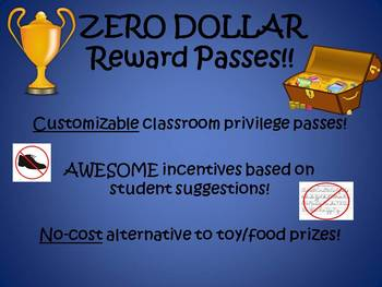 ZERO DOLLAR Reward Passes! No-Cost Incentives by Students, for Students!