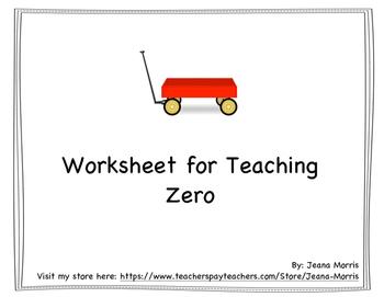 ZERO Free Worksheet