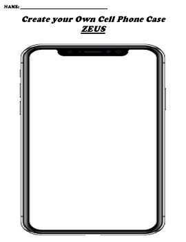 ZEUS CREATE YOUR OWN CELL PHONE COVER