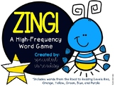 ZING! A High-Frequency Word Game