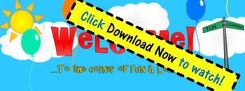 FREE ZING Banner! Animated TpT Banner: Welcome {Animated Q