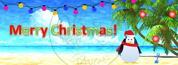 ZING Banners! Animated TpT Banner: Merry Christmas! {Animated Quote Box}