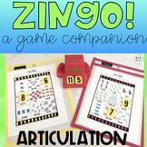 ZINGO, A GAME COMPANION - ARTICULATION (SPEECH & LANGUAGE