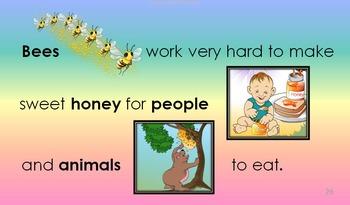 ZIP: VOLUME 1 - 4: HONEYBEE - FAMILY & HOME, LIFE CYCLE, BODY PARTS, CHORES