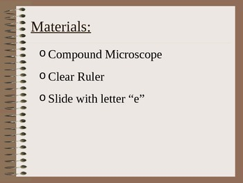 ZLesson 02 Using a Microsocope (e lab)