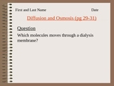 ZLesson 08 Osmosis and Diffusion Lab