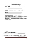 ZLesson 08 Osmosis and Diffusion Lab Worksheet