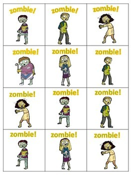 ZOMBIE! A short vowel reading game.