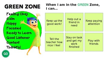 """ZONES """"I Can"""" Strategies"""