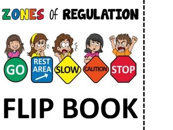 ZONES OF REGULATION SORT AND FLIPPBOOK
