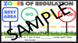 ZONES of Regulation Check In Poster