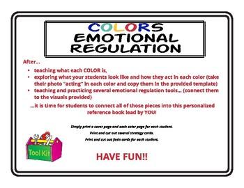 Emotional Regulation Toolkit Book