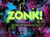 Order of Operations ZONK! Review Game for 6th Grade Math