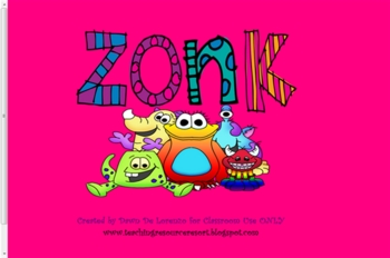ZONK Monsters Review Game (... by TeachingResourceResort ...