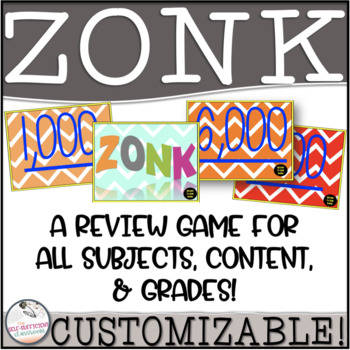 ZONK Review Game (Can Edit)