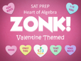 Valentines Day Heart of Algebra SAT Prep ZONK Interactive Review Game