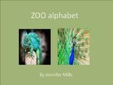 Zoo alphabet book