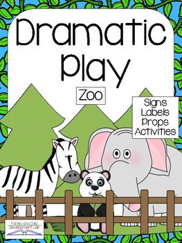 ZOO ANIMAL Dramatic Play Center