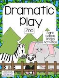 ZOO ANIMAL Dramatic Play Center