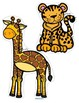 ZOO ANIMALS Math and Literacy Centers for Preschool and Pre-K