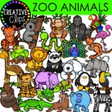 Zoo Animal Clipart {Creative Clips Clipart}
