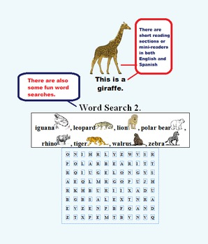PRE-K, K AND FIRST GRADE ZOO FUN EASY READER! (Common Core, ESL, 53 PAGES)