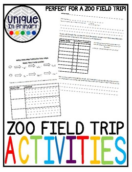 ZOO Field Trip Habitat Hunt