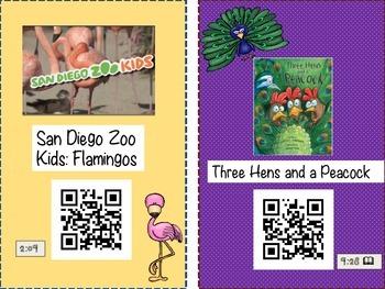 ZOO QR codes
