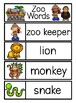 ZOO Word Cards {Capital & Lowercase}