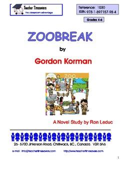 Gordon Korman - Zoobreak