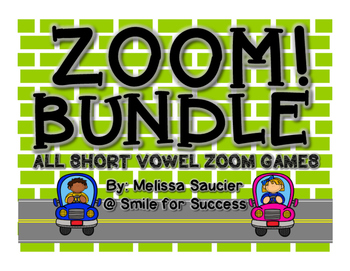 ZOOM! BUNDLE {All Short Vowel Games}