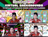 ZOOM Backgrounds to Reward Attendance During Distance Learning