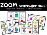 ZOOM Scavenger Hunt! Online and Remote Learning Game