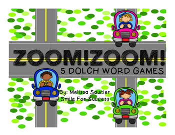 ZOOM! ZOOM! {Dolch Word Games}