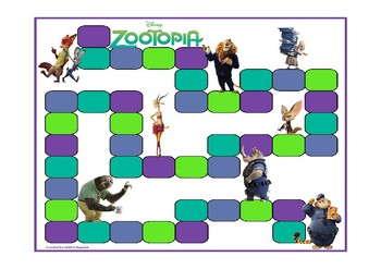 ZOOTOPIA FRY FIRST HUNDRED WORDS ACTIVITY PACK